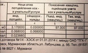Жители Заполярья получили квитанции ЖКХ на неизвестном науке языке