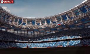 Шикарный стадион открылся в Нижнем Новгороде
