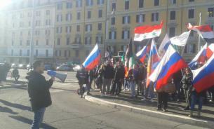 В Риме прошел митинг против действий турецких властей