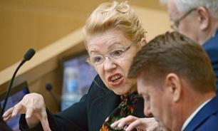 Мизулина обратится в Роскомнадзор с жалобой на СМИ