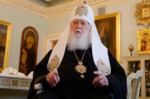 """""""Патриарх"""" Филарет восстановил Киевский патриархат"""