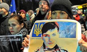 """СМИ: Киев обещает вернуть Савченко """"на днях"""""""