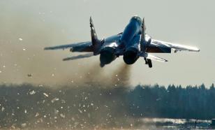 """Опубликовано видео """"невозможного полета"""" Миг-29"""