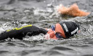 Пловец Беляв выиграл серебро на дистанции 25 км