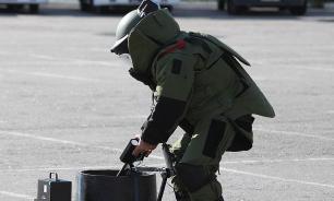 Ханты-Мансийск: похожий на бомбу предмет оказался муляжом