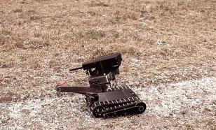 Боевой российский мини-робот немцам не понравился