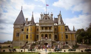 Массандра - дворец, как из сказки Перро