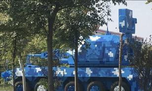 Китайцы создали БТР с пушкой от линкора