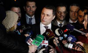 Премьер-министр Македонии ушел в отставку
