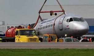 Комиссия проверит подготовку пилотов сгоревшего Sukhoi Superjet 100