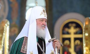 Патриарх Кирилл призвал молиться за спасение сборной России