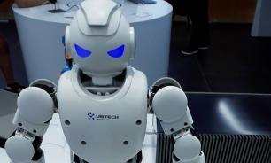 В Китае показали робота, который борется с террористами в Синьцзяне