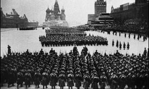 Парад Победы сорок первого года