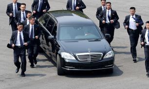 Резкий спуск на железнодорожном вокзале во Владивостоке срезали для Ким Чен Ына
