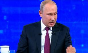Путин: Зеленский был талантлив в КВН, но сейчас на Украине не смешно