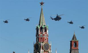 Репетиция воздушной части Парада Победы - прямо сейчас над Москвой
