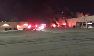Взорванный Детройт: СМИ сообщают об огне и разрушениях. ВИДЕО