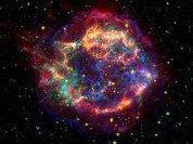 При взрыве звезду вывернуло наизнанку