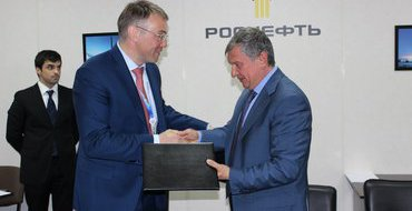 """Руководитель Ненецкого автономного округа и президент """"Роснефти"""" подписали соглашение о сотрудничестве"""