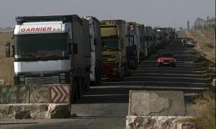 Блокада большегрузов на Украине: Страдают только частники -мнение