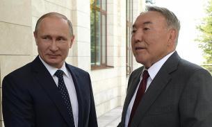 В Кремле сообщили о разговоре Путина с Назарбаевым 19 марта, но без подробностей