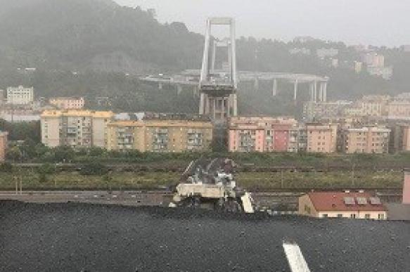 Назван виновник обрушения моста в Италии
