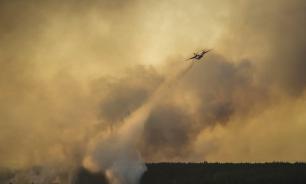 Леса вокруг Чернобыльской АЭС снова горят