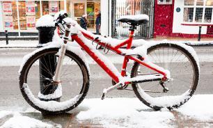 В Москве 5000 велосипедистов примут участие в первом зимнем велопараде