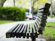 Скамейки для меломанов, бездельников и влюблённых