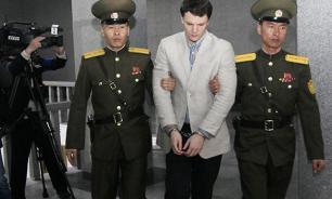 Юного американца посадили на 15 лет в северокорейскую тюрьму