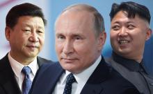 СМИ сообщили о срочной секретной встрече Путина, Си и Ким Чен Ына