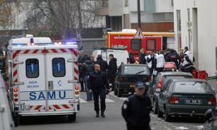 В Париже полиция арестовала 40 человек из фан-зоны перед Эйфелевой башней