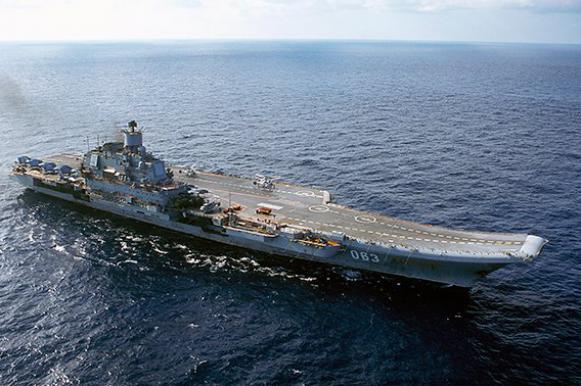"Авианосец ""Адмирал Кузнецов"" готов к бою"