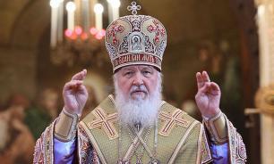 Патриарх Кирилл поздравил Зеленского с победой на выборах президента