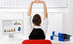 Разминка в офисе: пять лучших упражнений