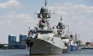 Корабли КФл и авиация ЮВО провели совместное учение