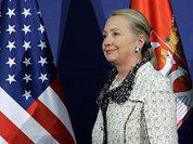 Агитвояж Клинтон на Балканы