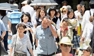 Жара стала причиной гибели 23 человек за неделю в Японии