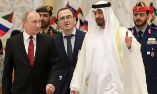 Путин в ходе переговоров в Абу-Даби отметил большие траты россиян в ОАЭ