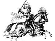 Что скрывала попона рыцарского коня?