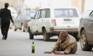 Россия заняла третье место в мире по пьянству
