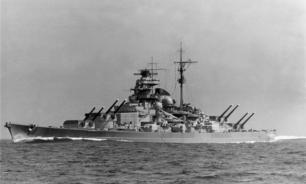 """Линейный корабль """"Бисмарк"""" - немецкий линкор Второй Мировой войны"""