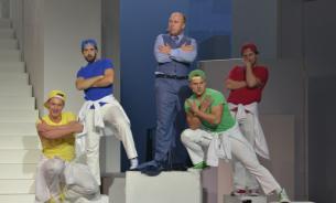"""Театр Армии: """"Юг/север"""" - спектакль для ума"""