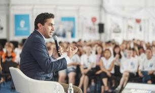 """Посланник генсека ООН обсудил на """"Территории смыслов"""" Всемирный фестиваль молодежи"""