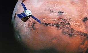 """Солнечный ветер """"убивает"""" атмосферу Марса. Видео"""