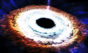 """NASA показало """"поедание"""" звезды черной дырой. ВИДЕО"""