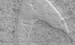 """Американские ученые нашли эмблему """"Звездного флота"""" из Star Trek на поверхности Марса"""