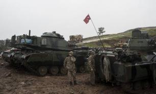 Армия Турции нанесла удар по позициям в Сирии