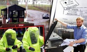 В Лондоне в мусорном баке нашли секретные файлы о химоружии