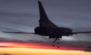 Минобороны опубликовало видео вылета стратегических бомбардировщиков, громящих ИГИЛ